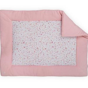 Jollein Boxkleed 80x100cm Tiny waffle soft pink