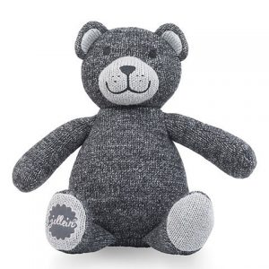 Jollein Knuffel Natural knit bear anthracite