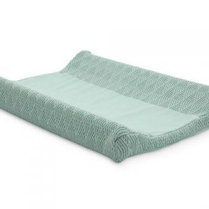 Jollein Waskussenhoes 50x70cm River knit ash green