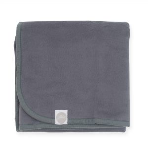 Jollein deken 75x100 dark grey
