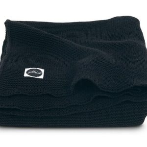 Jollein deken 75x100cm Basic knit black