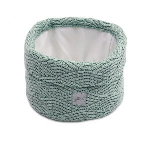 Jollein Commodemandje River Knit - Ash Green