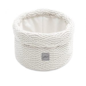 Jollein Commodemandje River Knit - Cream White