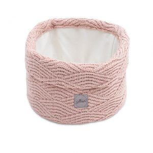 Jollein Commodemandje River Knit - Pale Pink