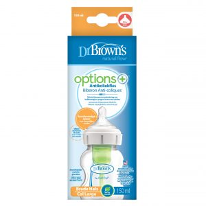 Dr. Brown's Options+ Anti-colic Bottle | Brede halsfles 150 ml